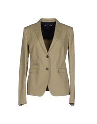 Newyorkese Suits And Jackets Blazers Women Military Green