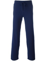 Cruciani Drawstring Sweatpants Blue