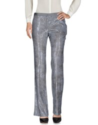 Fabrizio Lenzi Casual Pants Grey