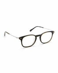 Krewe La Salle Square Optical Frames Matte Fern Green
