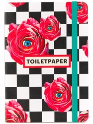 Seletti Checkered Floral Notebook 60