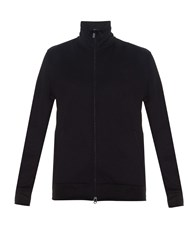 Y 3 High Neck Zip Front Track Top