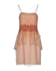 Carlo Pignatelli Short Dresses Light Pink