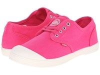 Palladium Pallacitee To Beetroot Purple Marshmallow Women's Lace Up Casual Shoes Pink