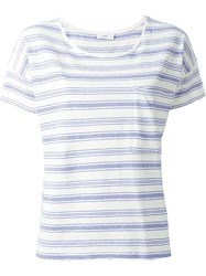 Closed Striped T Shirt White