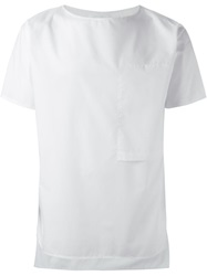 Alchemy Boxy Fit T Shirt White