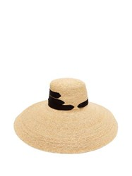 Lola Hats Espartina Straw Hat Black