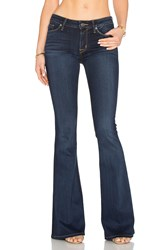 Hudson Jeans Mia 5 Pocket Mid Rise Flare Oracle