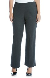 Karen Kane Plus Size Women's Stretch Knit Bootcut Pants