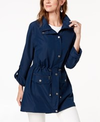 Styleandco. Style Co Hooded Anorak Jacket Ink