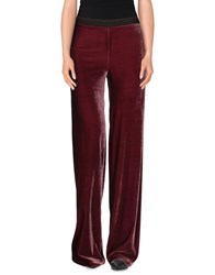 Siyu Trousers Casual Trousers Women Maroon