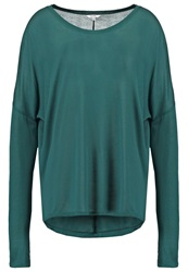 Mbym Long Sleeved Top Emerald Green