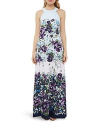 Ted Baker Entangled Enchantment Maxi Dress Dark Blue