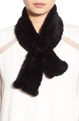 Women's Dena Genuine Mink Fur Scarf