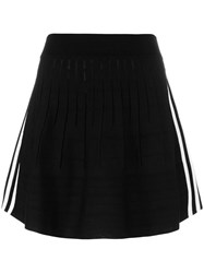 Adidas Originals Stripe Detail Skirt Black
