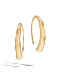 John Hardy Bamboo 18K Gold Small Hook Earrings