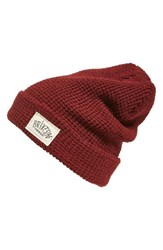Brixton Women's Borrego Slouchy Beanie Red Burgundy