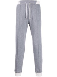 Brunello Cucinelli Contrast Waist And Cuffs Track Pants 60