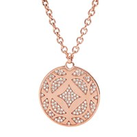 Fossil Jf01438791 Ladies Necklace Rose Gold