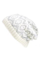 Women's Collection Xiix 'Arctic Nation' Beanie White Wool White