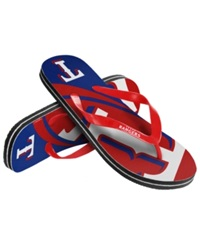 Forever Collectibles Texas Rangers Thong Sandals