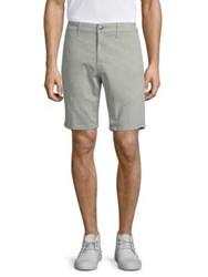 Joe's Jeans Regular Fit Brixton Shorts Optic White Matte Grey Blue Haze