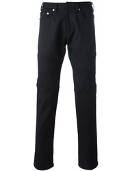 Neil Barrett Straight Leg Jeans Black
