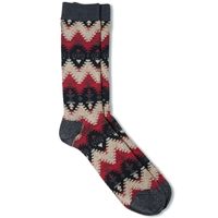 Anonymous Ism Wigwam Jacquard Crew Sock Black