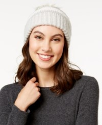 Inc International Concepts Chunky Stitch Beanie Only At Macy's Ivory