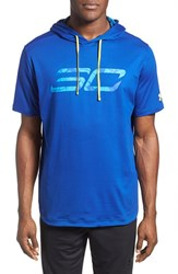 Men's Under Armour 'Sc30 Off Court' Short Sleeve Sweatshirt