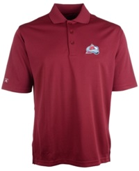 Antigua Men's Short Sleeve Colorado Avalanche Polo