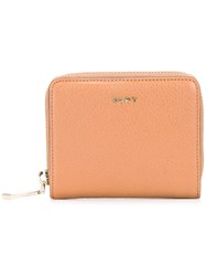 Dkny Zip Around Wallet Nude Neutrals