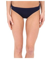 Dkny Street Cast Solids Classic Bottom Currant Women's Swimwear Red