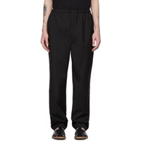 Christophe Lemaire Black Elasticated Trousers