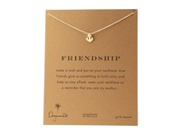 Dogeared Friendship Anchor Reminder Necklace Gold Necklace