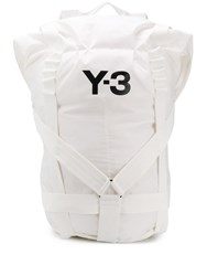 Y 3 Itech Backpack White