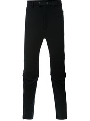 Ann Demeulemeester 'Maglione' Trousers Black