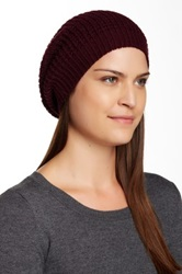 14Th And Union Waffle Slouchy Beanie Red