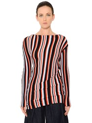 Jacquemus Striped Wool Knit Top