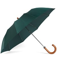 London Undercover Maple Telescopic Umbrella Green