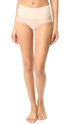 Spanx Undietectable Lace High Hipster Briefs Soft Nude
