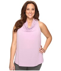 Lucy Extended Uncharted Tank Top Fresh Lavender Women's Sleeveless Purple