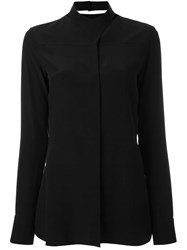 Maison Martin Margiela Cross Front Collar Shirt Black
