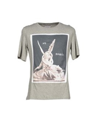 Each X Other T Shirts Grey