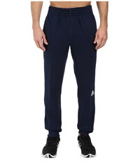 Adidas Slim 3 Stripes Sweatpants Collegiate Navy White Men's Workout