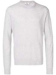 Acne Studios Niale Ultralight Sweater Grey