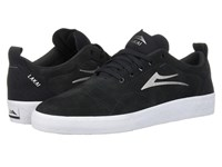 Lakai Bristol Charcoal Suede Skate Shoes Gray