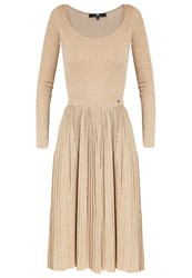 Elisabetta Franchi Cocktail Dress Party Dress Oro Gold