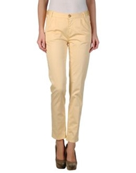 Heavy Project Casual Pants Yellow