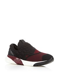 Ash Soda Neoprene Slip On Sneakers Cardinal Black
